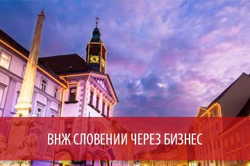ВНЖ Словении через бизнес